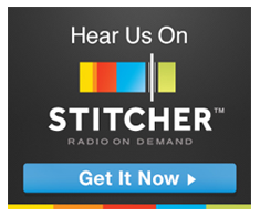 Hear us on Stitcher