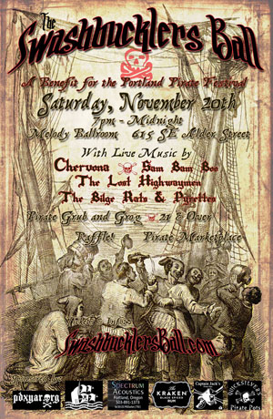 The Swashbuckler's Ball, a fundraiser for the Portland Pirate Festival
