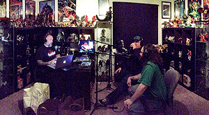 Kyle, Jeff & Bryan endure the two-hour talk-o-rama that was...the live listener party!!