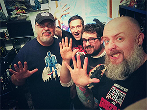 The Emergency Broadcast Returns! Jeff, Martin, Andy Campbell from Kaiju 101 and I broadcasted LIVE from the Kaijucast HQ for this 5th anniversary celebration!
