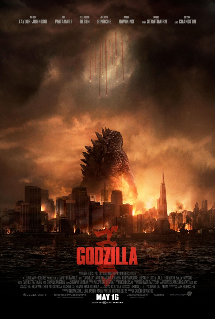 New Godzilla poster from Legendary Pictures.