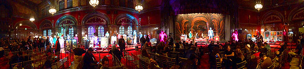 Click the photo to enlarge the panoramic shot of the Q&A Hall at Fear FestEvil.