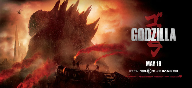 The Daikaiju Discussion for May will be the brand new blockbuster from Legendary Pictures.... GODZILLA!