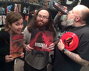 Rachel, Bryan & Kyle talk about the Big Wow Comic Fest and some of the many releases related to the new Godzilla.