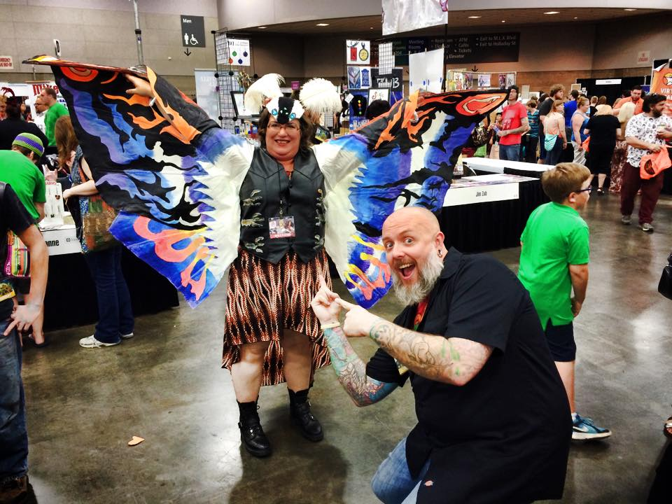 Check out this awesome inspired costume at Rose City Comic Con