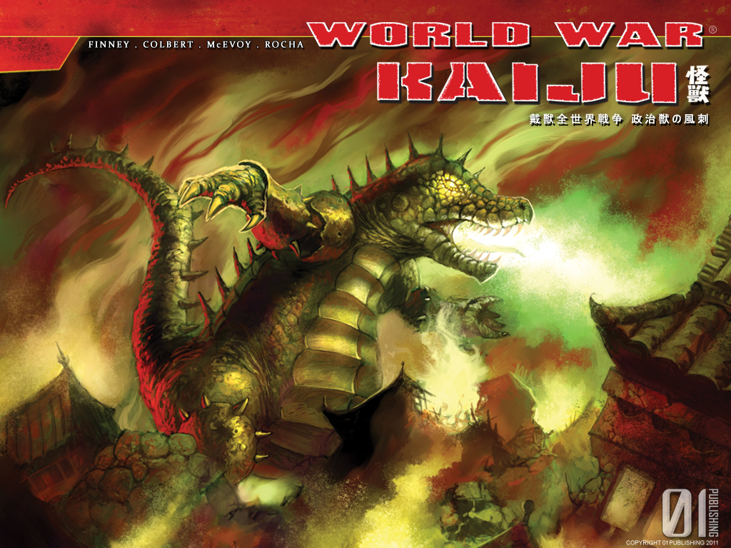 World War Kaiju vs Kaijucast