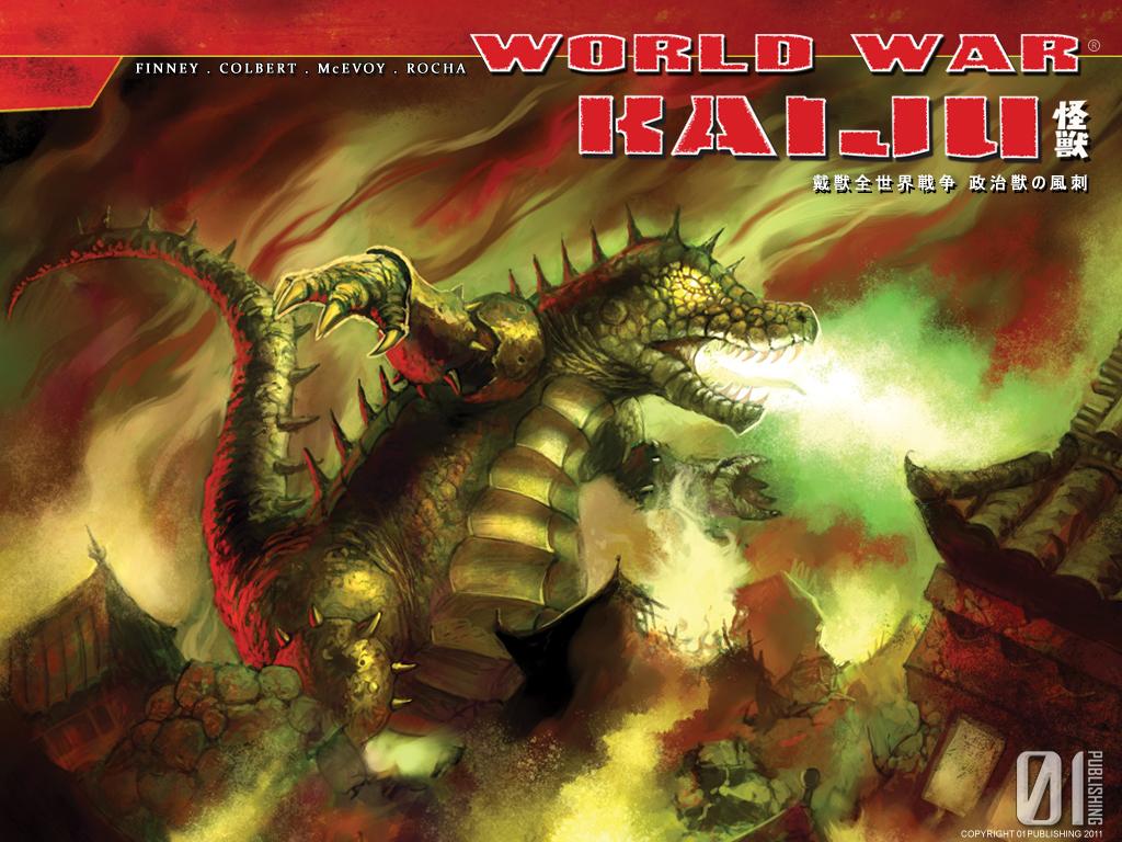 World War Kaiju vs Kaijucast