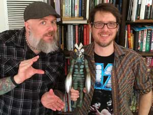 Kyle, Alien Baltan and Brad Warner talk about Tsuburaya Productions.