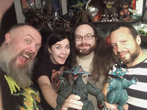 Kyle, Rachel, Bryan and Sean dive into the kaiju parody Monster X Strikes Back/Attack the G8 Summit in this month's Daikaiju Discussion!