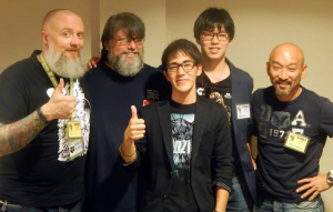 Kyle speaks with Mark Jaramillo (Kaiju Gaiden), Yasutomo Yoshida (Jet Jaguar short), Takayuki Hosonuma (Space Monster Numagirasu) and Tetsu Shioda about the indie Kaiju scene in Japan and more!